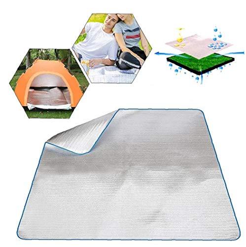 El Dormir del Papel de Aluminio Resistente al Agua de EVA Manta colchón Estera de Aluminio para Que acampa yendo de Comida campestre del Recorrido