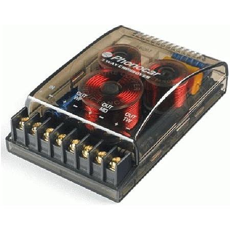 Phonocar 5 343 Frequenzweiche 3 Wege Mono 200 W Multipack 2 Stück Navigation
