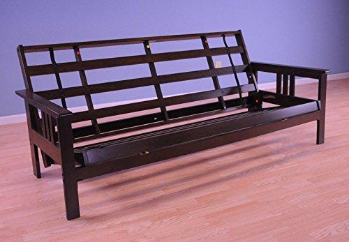 Kodiak Furniture Full Monterey Wood Futon Frame | Espresso