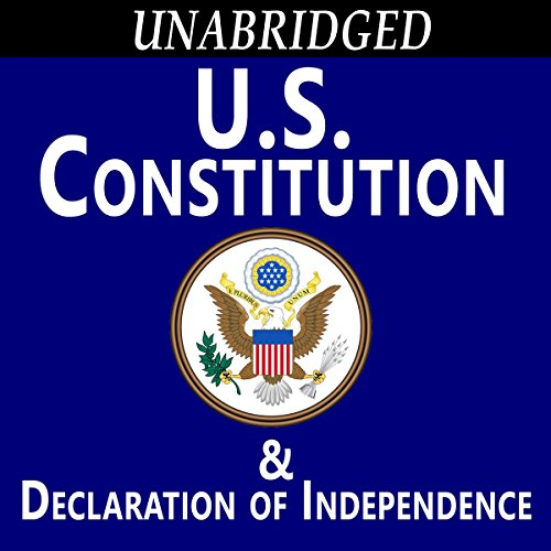 The Constitution of the United States audiobook cover art