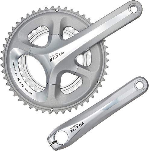SHIMANO 105 5800 SR Guarnitura per Cambio di Bicicletta, con pedivella, 53/39, 170 mm