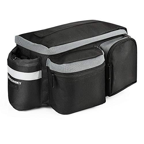 Wozinsky Fahrrad Fahrradtasche Gepäcktasche Gepäckträger Tasche Reisetasche Wasserdicht 6L