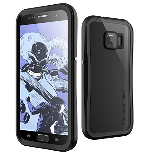 Galaxy S7 Waterproof Case, Ghostek Atomic 2.0 Series for Samsung Galaxy S7 (Black)