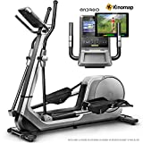 Sportstech Bicicleta elptica LCX800, Luxus Pantalla Android Multifuncional,...