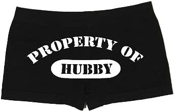 Make Me Laugh Women's Property of Hubby Boy Shorts