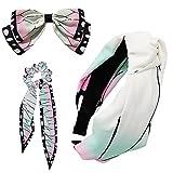 3 Pcs Kochou Shinobu Hair Bow Tie Hair...