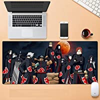 マウスパッドアニメドラゴンラージゲームマウスパッド - 80*30*0.2cm ンピューターキーボードマウスパッドノンスリップマウスパッドラバーベースとステッチエッジ、ゲーマーに最適 -A_700x300x3mm