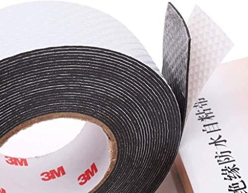 Waterdichte isolatie PVC afdichting Tape-elektrische Tape kanaal reparatie elektrische lijm Gaffer Tape Retardant Tape Kabel Zelfklevende Tape Rubber Seal Protection 10 KV Hoge Voltage Elektrische Vlam Retar