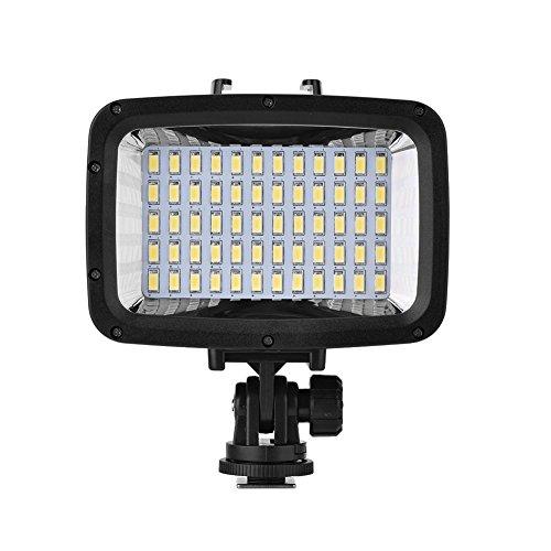 Luz de Video LED Impermeable subacuática Luz Nocturna Lámpara de Relleno de luz subacuática para cámara y teléfono Inteligente