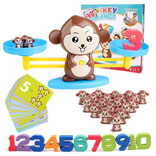 juegos matematicos para niños, Equilibrar Juego De Matemáticas 65 Piezas Juguete De Aprendizaje Aprender A Contar Números Y Matemática Básica Niños Educación Temprana Juguete Animal