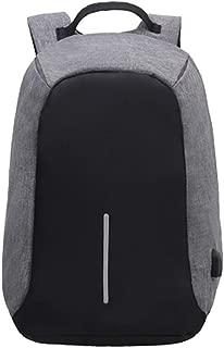 YYuzhongfenM New Anti-Theft Backpack Luminous bar Sports Computer Bag Backpack (Color : Gray)