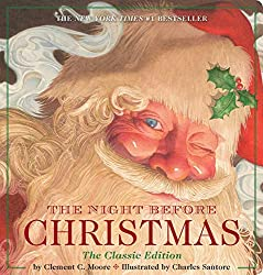 "book to read on baby's first christmas ""The Night Before Christmas"""