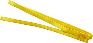 Outdoor/Indoor Sports Headband Non-Slip Yellow Yoga Double-Band Head Band