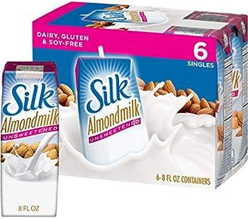18-Count Silk Almond Unsweetened Unflavored Dairy-Alternative Milk