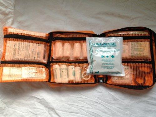 S&D Berlin Verbandtasche DIN Füllung (Orange DIN 13157 - kl. betrieblicher Verbandkasten)