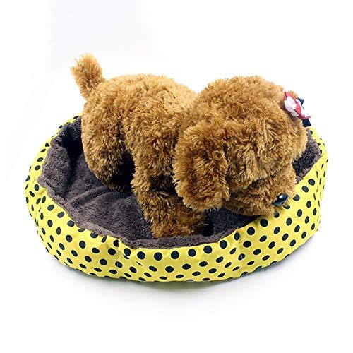 XSARACH hondenbed, warm, winterbed, slaapbank voor huisdieren, zoals honden en katten, uittrekbaar en wasbaar, zacht en comfortabel, 2 maten