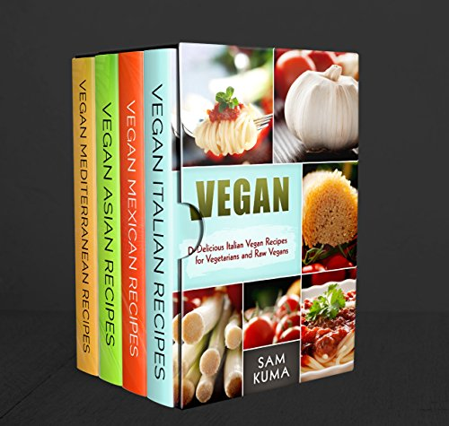 Ethnic Vegan Delight Box Set: 4 Books in 1