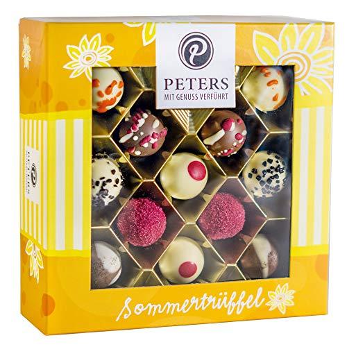 Peters Sommerliche Pralinen-Mischung | 300g Hochwertige Pralinen | Pralinenschachtel zum Verschenken