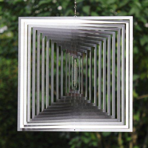 Windspiel MAGISCHES QUADRAT -absolut Wetterfest- Stolze 22,5cm Groß - 2