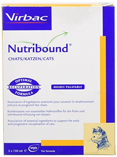 Virbac Nutribound Probiotique pour Chat 3 x 150 ML