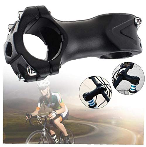 Mountain Bike Stem Aluminum Alloy Stem Riser Bicycle Handlebar Stem for Mountain Road Cyclocross and...