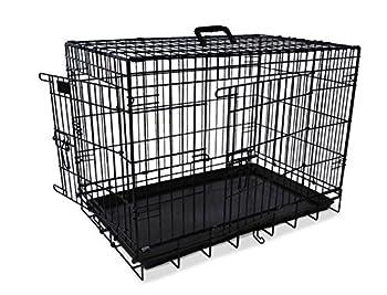 Cage Transport Noir Metal - Cage