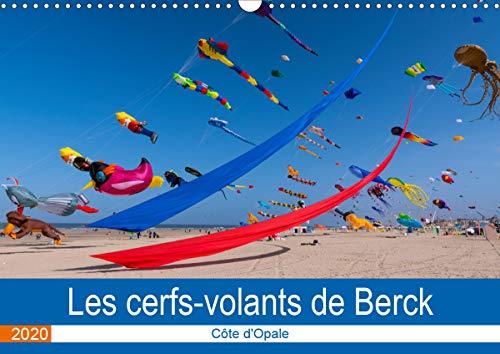 Les cerfs-volants de Berck-sur-mer (Calendrier mural 2020 DIN A3 horizontal)