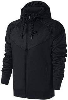 Men's Air Hybrid Fleece Windrunner Hoodie Black