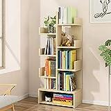 Gal Estantería de almacenamiento en forma de árbol, estantería para libros,...