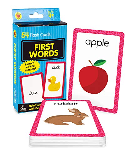 First Words Flash Cards (Brighter Child Flash Cards)
