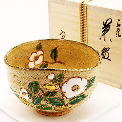 Purchase Matcha bowl Haiyuzu bowl ' Tsubakie ' wooden box winter