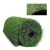 Alfombra de césped artificial suave de 1 cm de grosor para césped artificial, tapete para paisaje, decoración de suelo de jardín al aire libre, tutor