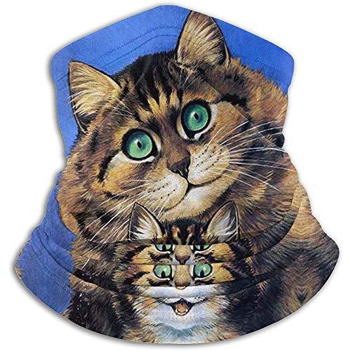 Fliese Wandbild Flauschige Katzen von Louis Wain Haustier Kätzchen Matte Halswärmer Gamasche Stirnband Bandana Kopf Wickeln Schal Sturmhaube