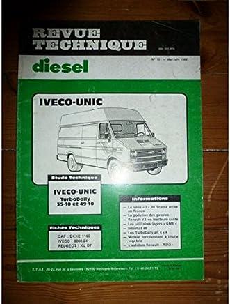 RTA Diesel du 12/1984; Iveco-Unic Série 165-24 Auto: tijdschriften en boekjes