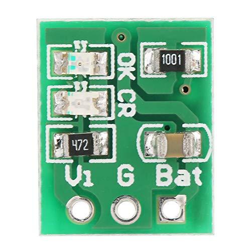Changor Módulo de carga de la batería de litio recargable 4,5 V-8 V CC 12,3 * 10 * 4 mm -65 ~ 125 ℃ Módulo de carga de la batería de litio con plástico