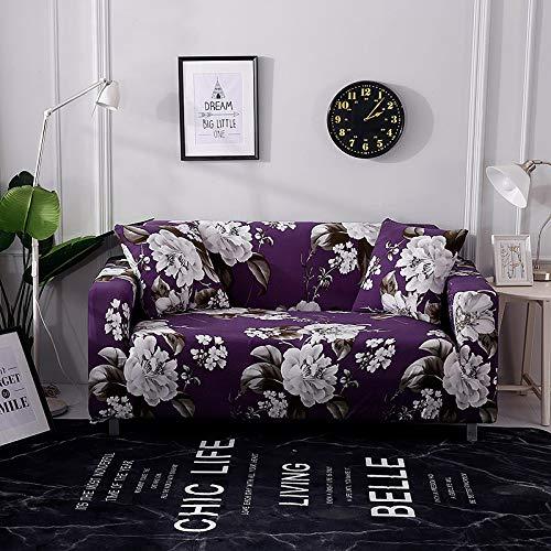 Funda de sofá Universal elástica elástica para sofá de Sala de Estar, Funda de Esquina de sofá seccional para Muebles A10, 4 plazas