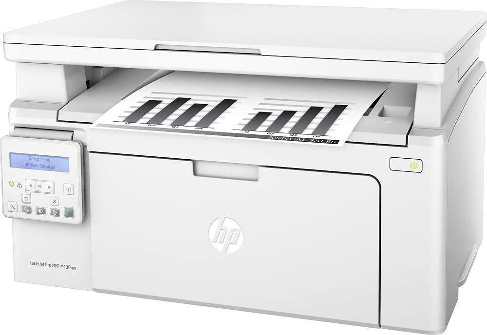 HP Laserjet Pro MFP M130nw Wireless Black-and-White All-in-One Printer