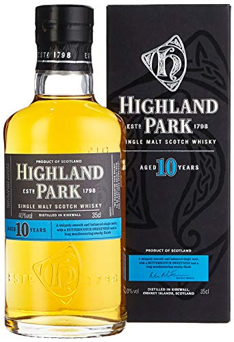 Highland Park 10 Jahre Single Malt Scotch Whisky (1 x 0.35 l)