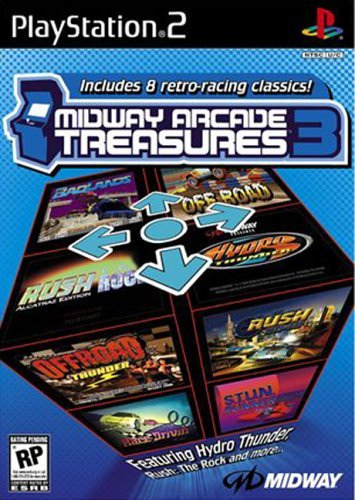 Midway's Arcade Treasures 3 (PS2) by Midway Games Ltd