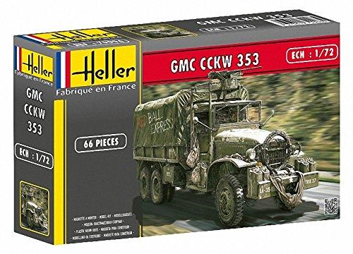 Heller - 79996 - Maqueta para Construir - GMC CCKW 353 - 1/72