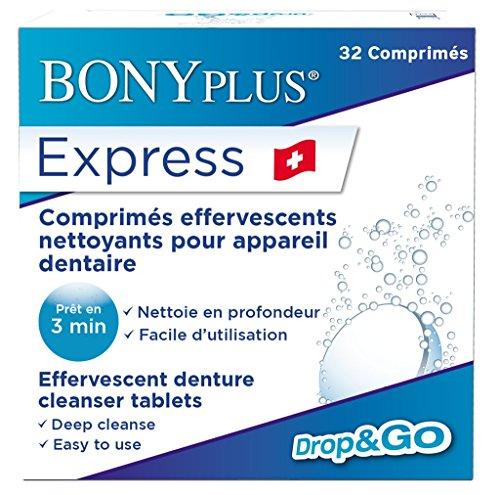 'Express' Limpiador Dentadura Retenedor ~ 32 Tabletas