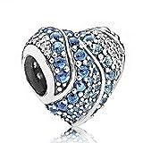 Pulsera Charms Abalorios,Declaración Larga Crystal Snail Elephant Dog Chili Flowers Charms Beads Fit Bracelets & Bangles For Women Diy Gift