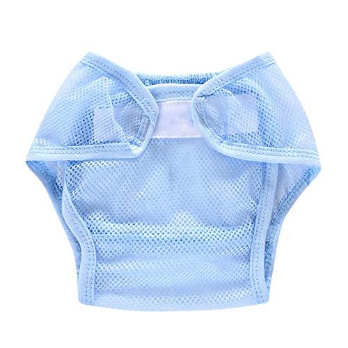 YIHANK Baby Infant Solid Gaze Ventila Stoffwindeln Wiederverwendbare Windel Snap Windel Windelhose