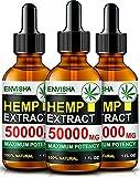 Best Hemp Oils - Pure Hemp Oil - 50000MG of Organic Cold-Pressed Review