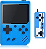 Gameeco Retro games console Handheld Game Console Retro Portable Game Machine with 400 NES FC Games, 3-Inch Color Screen, 2 Players and TV Support