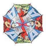 Paraguas Burbuja Transparente Los Vengadores Avengers Capitán América y Ironman (Los Colores se sirven de Forma aleatoria)