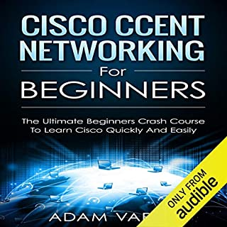 Cisco CCENT Networking for Beginners audiobook cover art