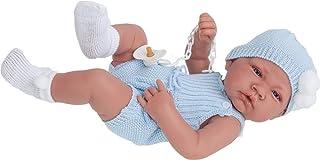 Antonio Juan - Muñeco recién Nacido con Vestido de algodón (5067)