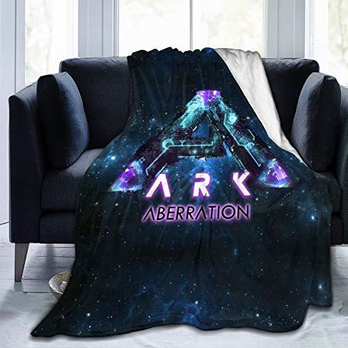 Lusad ARK Survival Evolved Blanket Warm Super Soft Flannel Blanket Cozy Winter Blanket