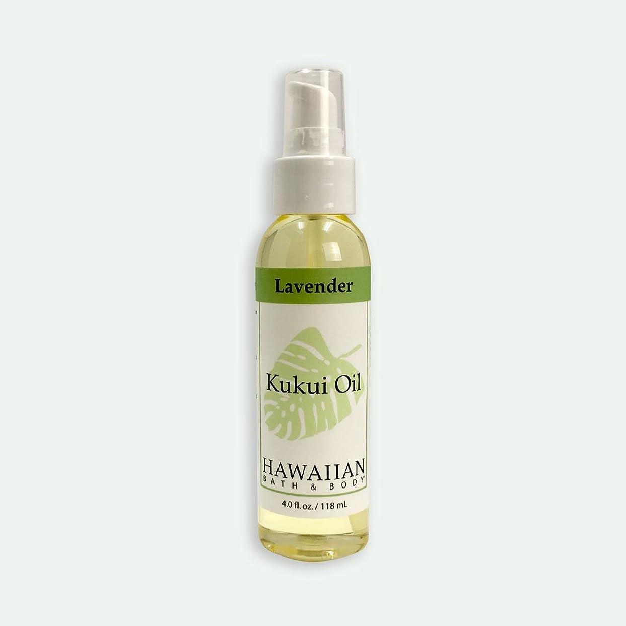 順応性のある時々時々マトロンハワイアンバス&ボディ ククイオイル ?ラベンダー 118ml Lavender Kukui Nut Oil